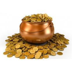 В Индии фермер откопал горшок с 435 древними монетами