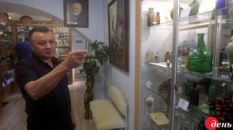 В Винницкой области создан уникальный музей-аптека с двухсотлетними экспонатами