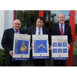 Марки с масонскими символами напечатаны со скрытой информацией