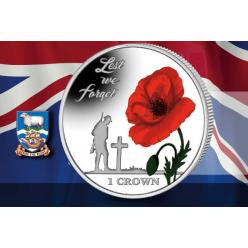 Фолклендские острова выпустили памятную монету в честь 35-летия конфликта между Британией и Аргентиной