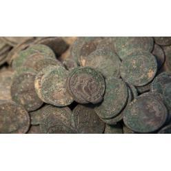 В Эстонии обнаружены монеты возрастом поряка 18 столетий