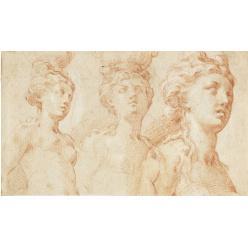 Зарисовка Франческо Пармиджанино попала на аукцион Bonhams