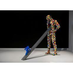 Выставка «Искусство Лего» успешно путешествует по миру