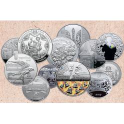 Нацбанк опубликовал план выпуска памятных монет на 2017 год