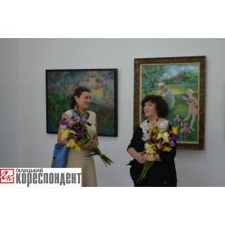 В Ивано-Франковске открылась выставка художницы Ирины Вышеславской
