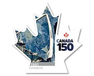 В Канаде представлена новая почтовая марка к 150-летию Канадской Конфедерации