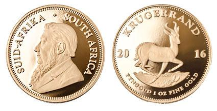 Южно-Африканский монетный двор перевыпустит оригинальные крюгерранды 1967 года