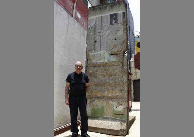 В Мексике фрагмент Берлинской стены оказался на торгах