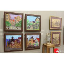 Во Львове открылась экспозиция художника Сергея Михновского