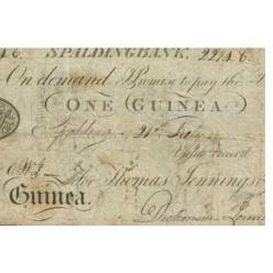 Редкая ценная бумага Spalding Bank продана на торгах