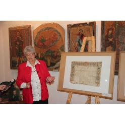 Отреставрированные пергаменты Олицкого замка выставлены в Музее Волынской иконы