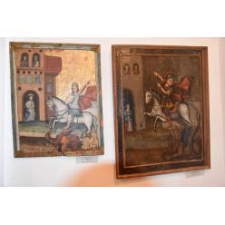 В Луцке стартовала экспозиция с иконами святых воинов