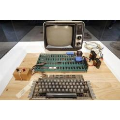 В Германии на торгах оказался один из первых компьютеров Apple