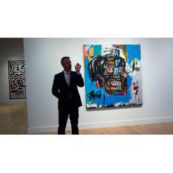 На Sotheby's продано полотно американского художника Баския