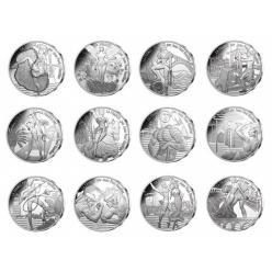Истинная Франция отобразилась на монетах Жана Поля Готье