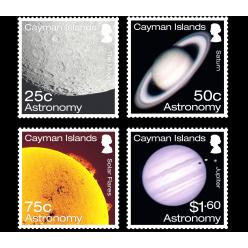 Каймановы острова выпустили космическую серию почтовых марок