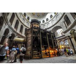 Открылась отреставрированная часовня над местом погребения Христа