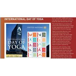 ООН анонсировало выпуск марок, посвященных Международному дню йоги