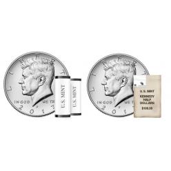 Сегодня Монетный двор США представил коллекционные наборы с портретом Кеннеди