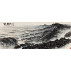 В Китае полотно современного художника Фу Баоши ушло с молотка