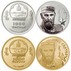 В Монголии выпустят памятные монеты в честь Фиделя Кастро