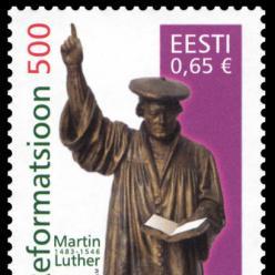 Эстония представит почтовую марку в честь 500-летия Реформации