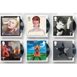 Королевская почта Британии впервые в истории выпустила марку в честь музыканта