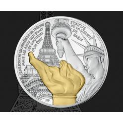 Парижский Монетный двор презентовал продолжение серии «Сокровища Парижа»