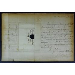 Письмо, подписанное Джорджем Вашингтоном, стало лотом на аукционе