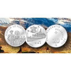 В Швейцарии выпустят две памятные 20-франковые монеты