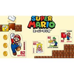 В Японии выпустят серию почтовых марок с Супер Марио