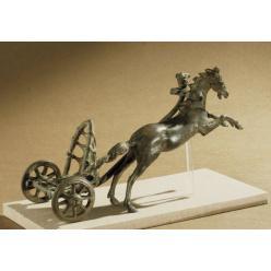 """Благодаря изучению древнеримской игрушечной колесницы раскрыт секрет """"гоночных"""" колесниц"""