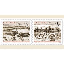 """Литва в рамках серии """"Европа"""" выпустит две почтовые марки о литовских замках"""