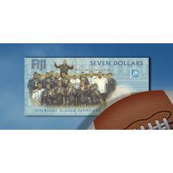 Остров Фиджи выпускает банкноту, посвященную победе сборной по регби на Олимпийских Играх 2016 года