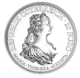 Императрица Мария-Терезия станет лицом новой памятной монеты