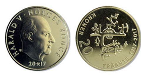 В Норвегии выпущена памятная монета, посвященная саамской культуре