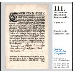 В Берлине состоялся 111 Аукцион скрипофилии FHW