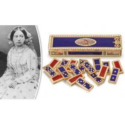 Набор домино королевы Виктории выставляется на торги за 400 тысяч фунтов стерлингов