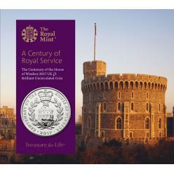 В Великобритании выпустили монету в честь столетия правления дома Виндзоров