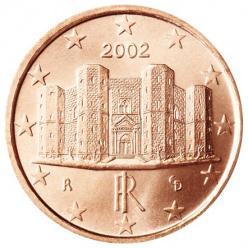 В Италии прекратят чеканить монеты в 1 и 2 евроцента