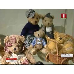 В Минске открылась экспозиция игрушечных мишек