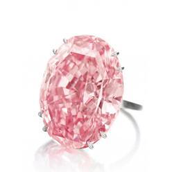 Крупнейший бриллиант «Розовая звезда» стал самым дорогим в мире драгоценным камнем