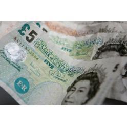 В Британии 5-фунтовые банкноты старого образца перестали быть действительными
