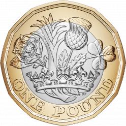 Старые монеты в 1 фунт стерлинга выходят из обращения