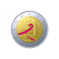 Во Франции выпустят памятные монеты, приуроченные созданию символа борьбы с раком груди