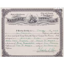 Свидетельство о браке Мэрилин Монро было продано на аукционе за 122500 долларов США