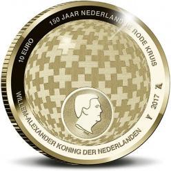 В Нидерландах выпустили монеты к 150-летию Голландского Красного Креста