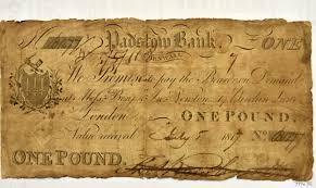 Возвращение «блудной банкноты» состоялось в Великобритании