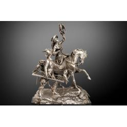 Серебряная статуэтка ушла на торгах Salisbury за рекордные 36 тысяч фунтов стерлингов