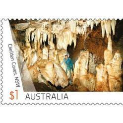 Австралия выпустила новую почтовую марку с изображением Клифденских пещер